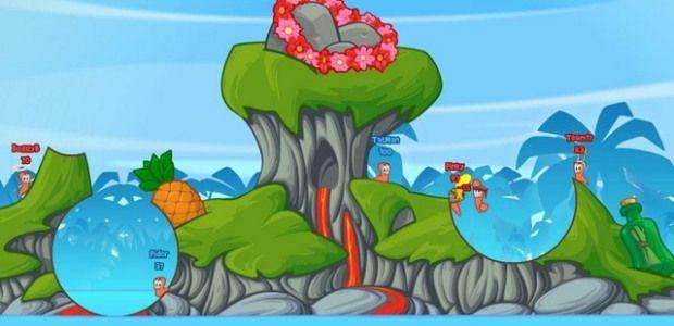Worms el juego-tecnologia-maestro