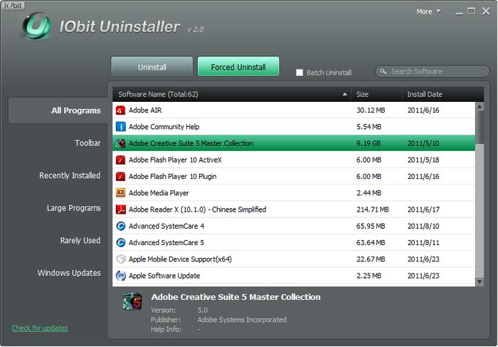 IObit Uninstaller-tecnologia-maestro