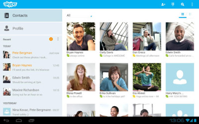 1- Skype para Android
