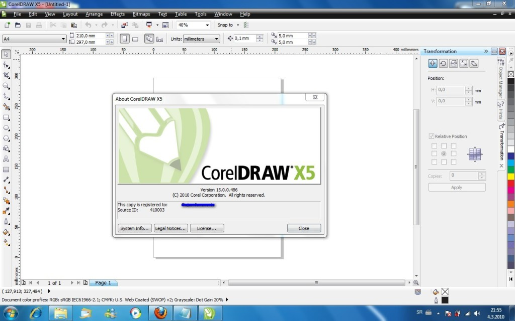 2- Corel Draw en Windows