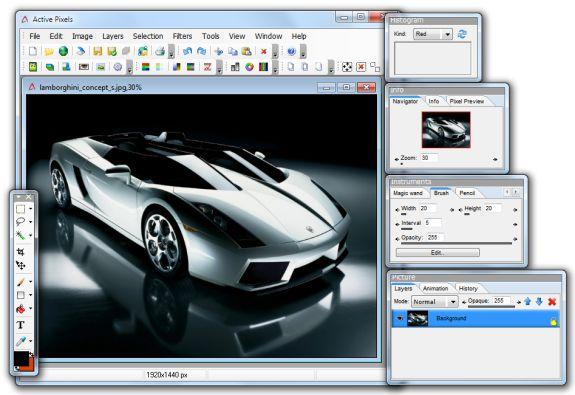 5- Pixel Image Editore n Linux