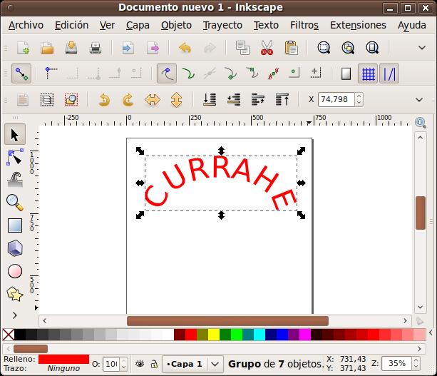 6- Inkscape en Linux