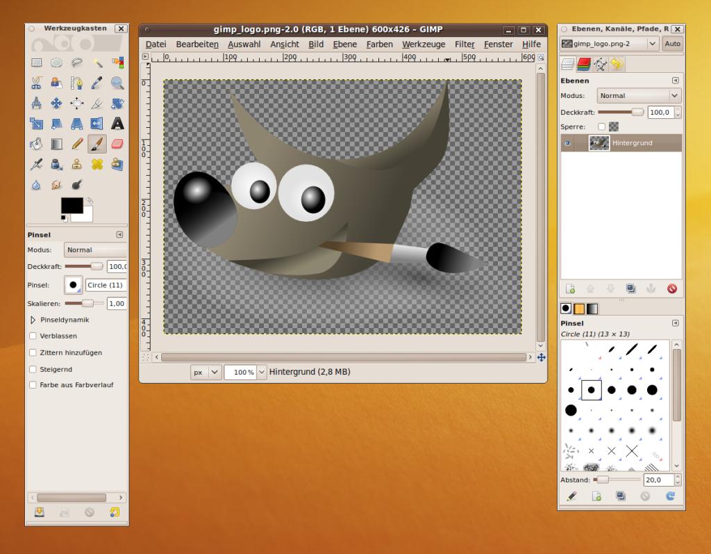 7- GIMP en Linux