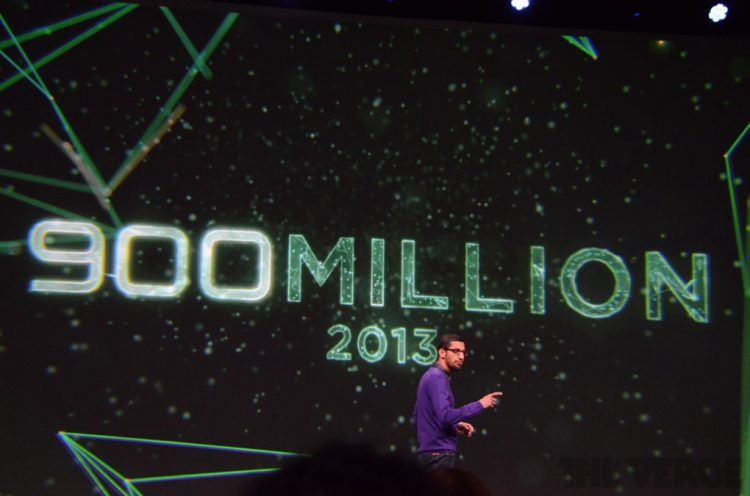 900 millon android