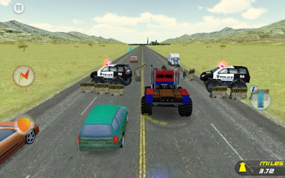 11- Crazy Monster Truck - Escape