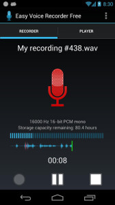 19- Grabadora Easy Voice Recorder