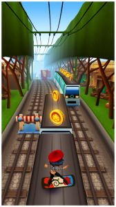 4- Subway Surfers