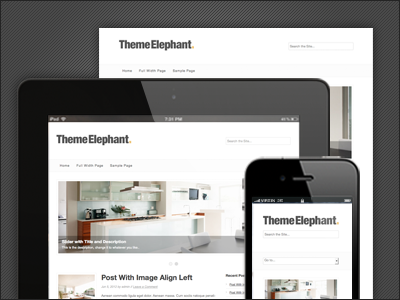8 temas simple y elegantes, con diseño responsivo en Wordpress