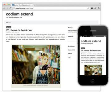 tema responsive web para wordpress