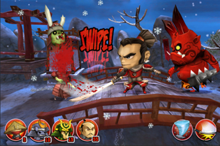 Samurai Vs Zombies Defense 2, lucha contra los zombies malvados