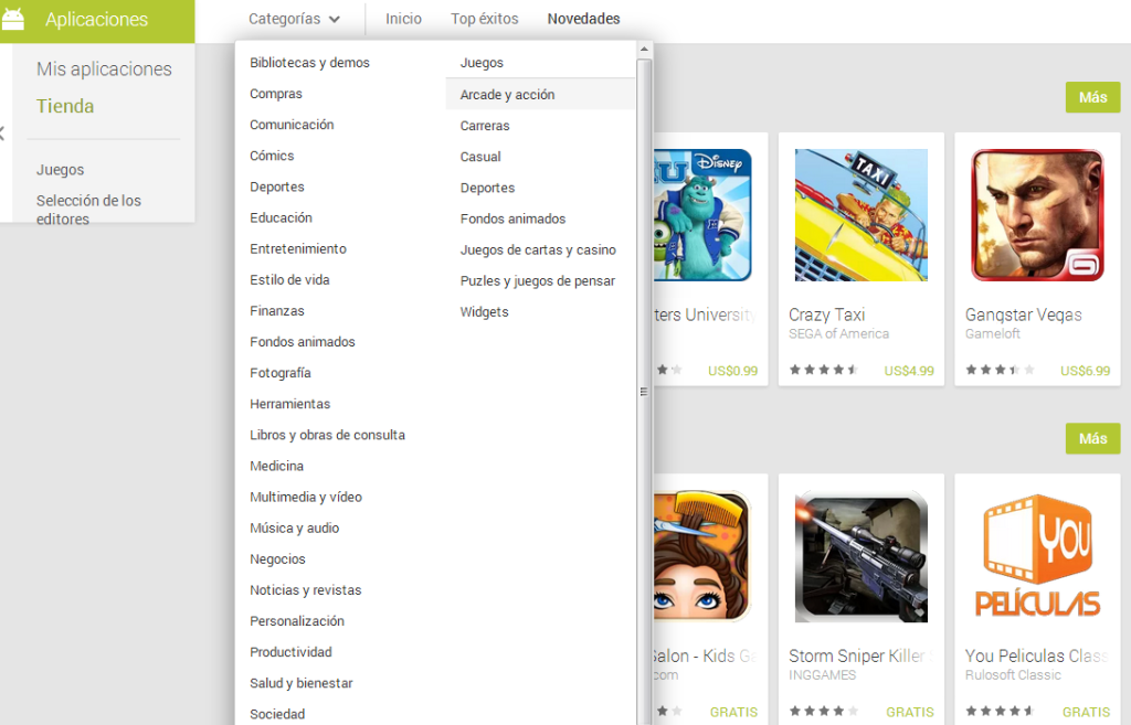 google play frontal 3 tecnologiamaestro