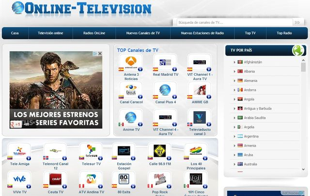 TV en vivo desde Google Chrome y totalmente gratuita, con TV en directo