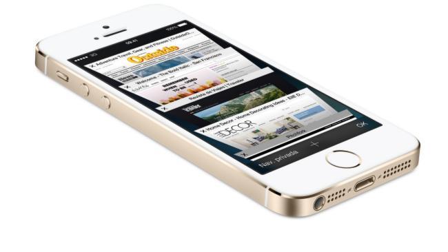 iPhone 5S dorado