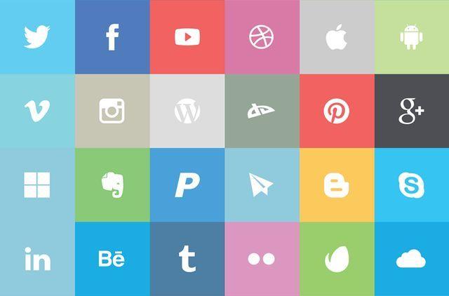 iconos de redes sociales tecnologiamaestro