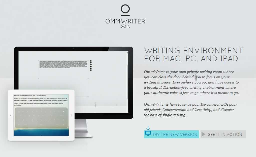 ommwriter tecnologiamaestro