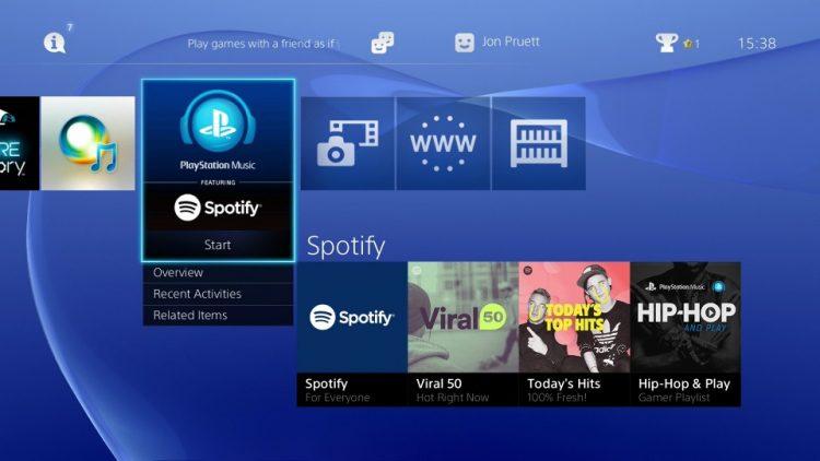 spotify-y-sony-playstation-streaming-tecnologiamaestro