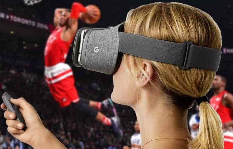 juegos de NBA en vivo en realidad virtual
