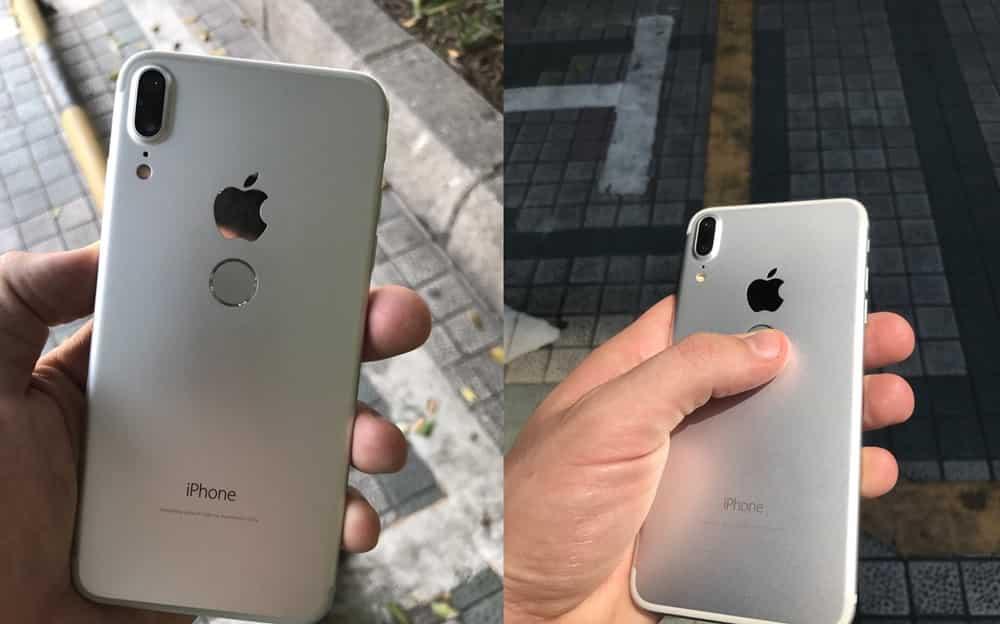 Es esto? en nuevo iPhone 8. Se ve feo?