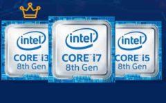 El intel Core i3 en 2017 8va generación