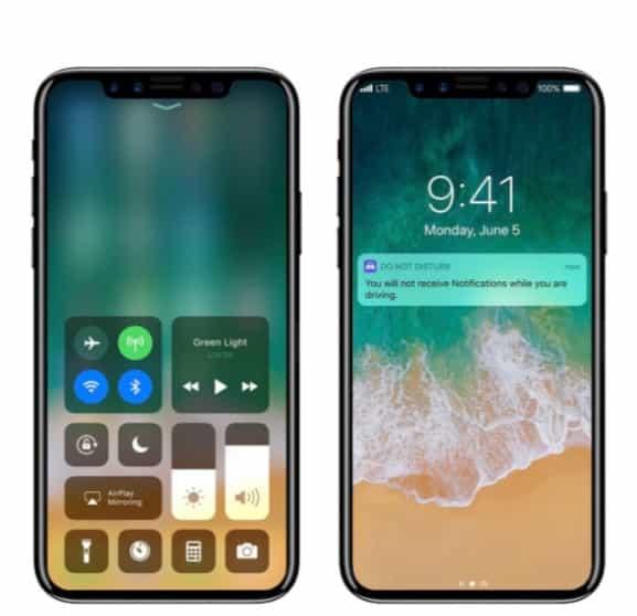 el nuevo iPhone 8 concepto