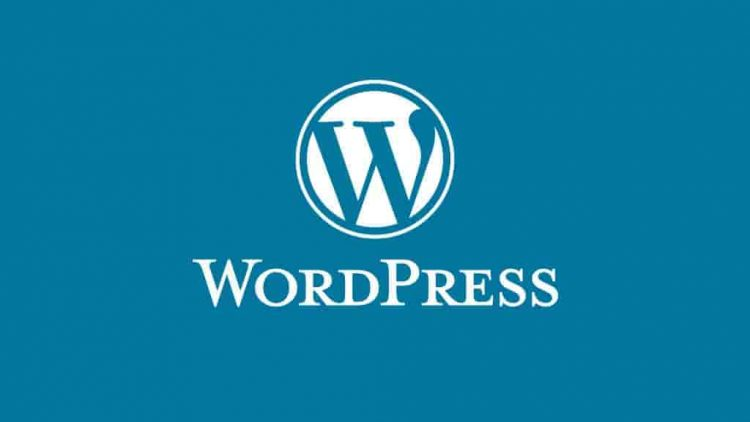 Wordpress con fondo azul viejo