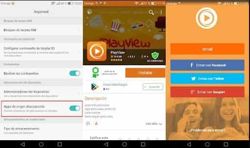 aplicacion playview de forma gratuita