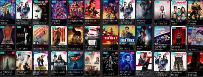 Cine Latino aplicacion para android
