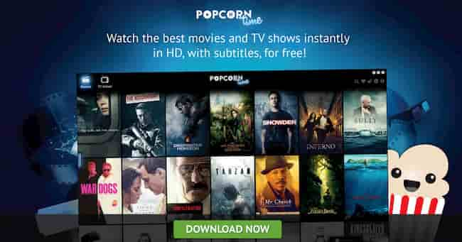 popcorn time 2020 para android
