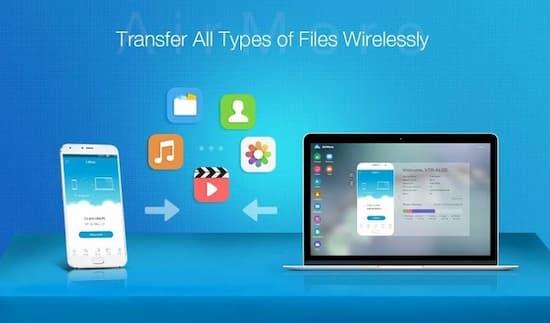 AirMore para andriod aplicacion para transferir archivos