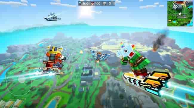 5. Pixel Gun 3D un juego