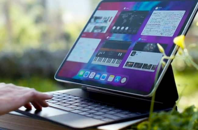 ipad pro 2020 con teclado nuevo
