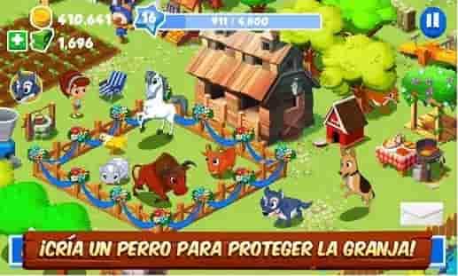 crear granja juego divertido en android