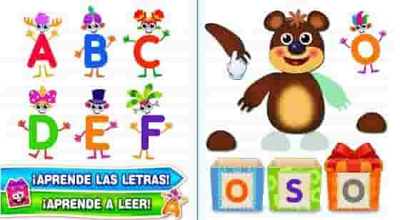 juego para aprender letras en android