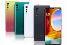 LG Velvet telefono android casi es oficial