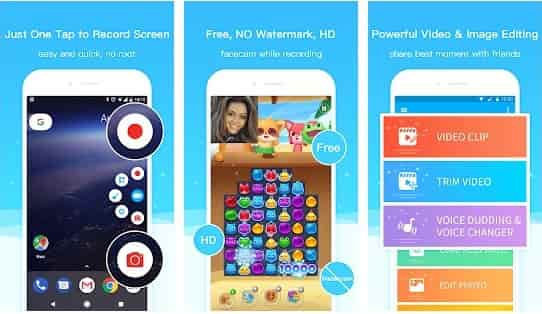 super screen recorder en android